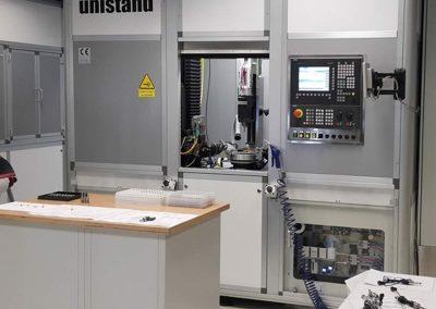 CNC-Laserschweißzentrum, installiert und gestartet