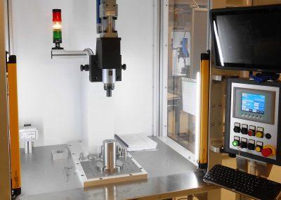 Pflanzbank mit elektromechanischer Presse (20 kN)