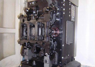 V6-Kurbelgehäuse aus Gusseisen